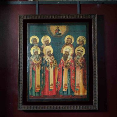Russian Icon, 18C. Tver school