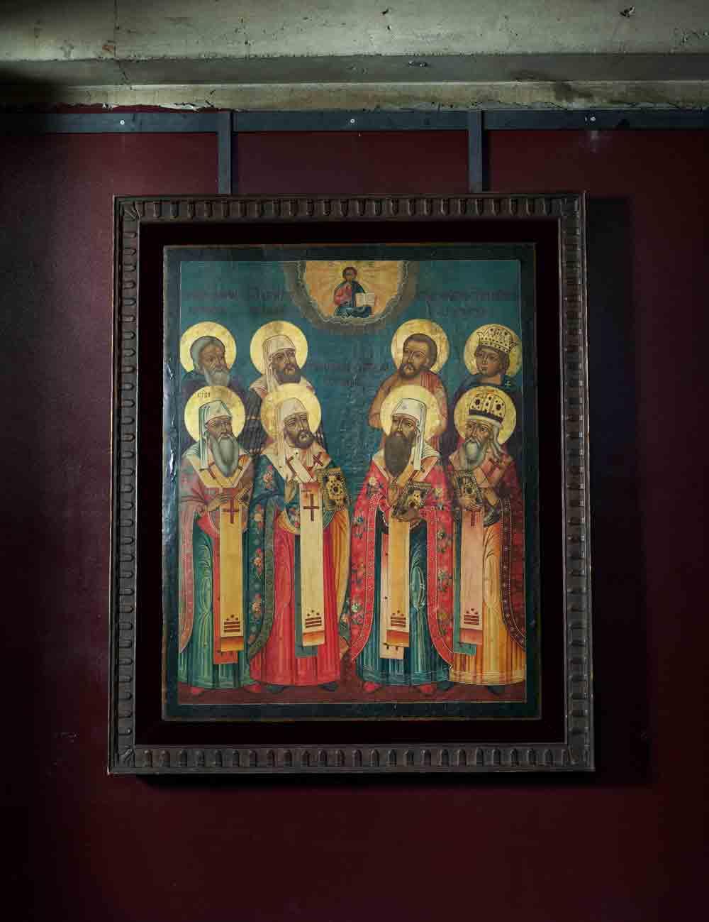 Russian Icon, 18C. Tver school