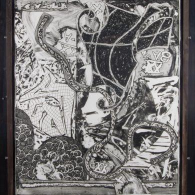 Frank stella, Swan engraving IX