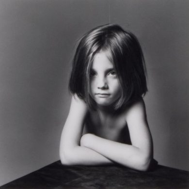 Robert Mapplethorpe, portrait of girl