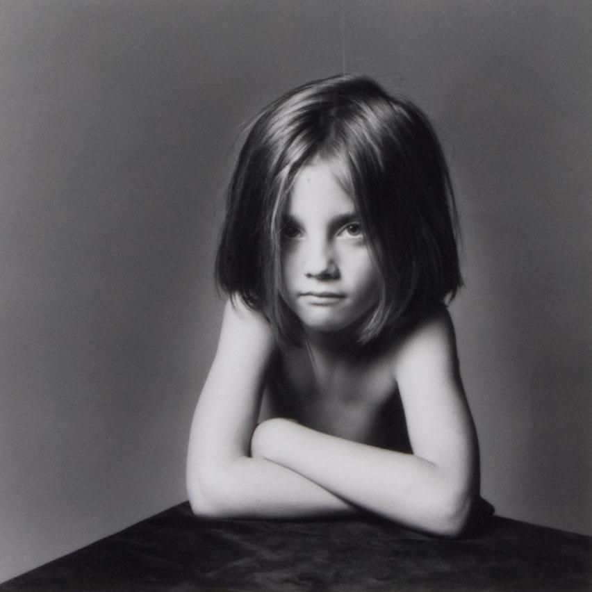 Robert Mapplethorpe, portrait of girl